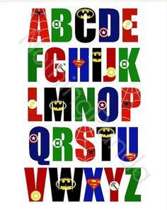 Win an 8x10 Print of the Superhero ABC's