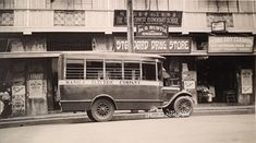 A Manila Electric Company Bus along Herran Street, Paco, Manila. Philippines Culture, Manila Philippines, School G, Jeepney, Retro Pictures, Colorized Photos, Custom Jeep, Historical Pictures, Pinoy
