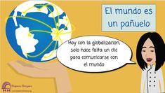 El Mundo es un Pañuelo (B1/B2) Spanish Expressions, Spanish Classroom, Chart, World, Spanish Class