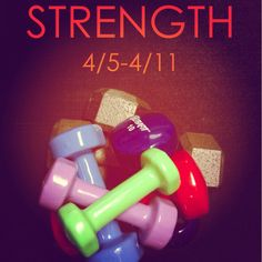 This week we focus on strength. Not bulky, but long, lean and sexy strength. 4/5-11 at Poise Fitness.