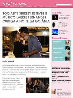 Em Família - Site de Celebridades flagra o beijo entre Laerte e Shirley.