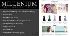 Millenium – Prestashop 1.6 Theme + BLOG Download link: Millenium – Prestashop 1.6 Theme + BLOG