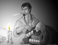 Nightwork by Okamisinigami on DeviantArt. I dunno, Altair, that doesn't really look like work
