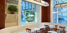 All the details on Ralph Lauren's latest venture: a Fifth Avenue coffee shop.