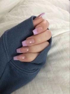 Cute Acrylic Nail Designs, Simple Acrylic Nails, Pink Acrylic Nails, Pink Nail Designs, Nails Design, Aycrlic Nails, Swag Nails, Hair And Nails, Fire Nails