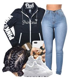 A fashion look from November 2016 featuring Victoria's Secret, diamond necklace and iphone cases. Browse and shop related looks. Baddie Outfits Casual, Cute Swag Outfits, Casual Winter Outfits, Dope Outfits, Outfits For Teens, Fashion Outfits, Womens Fashion, Teenager Outfits, College Outfits