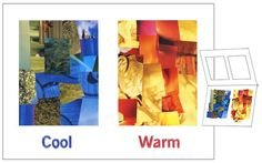 Cool and Warm Color Collage – Art Projects for Kids