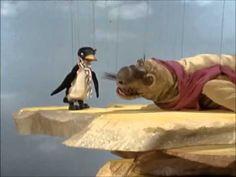 Selefant und Ping Pinguin singen zusammen  (Urmel aus dem Eis / Augsburger Puppenkiste)