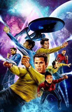 Star Trek art