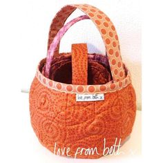 Looking for your next project? You're going to love Pumpkin Bags by designer lovefrombeth.
