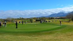Activity on the putting green at The Views Golf Club at Oro Valley