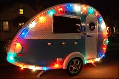 A true camper never forgets his camper lights!