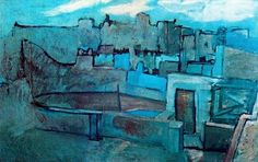 Pablo Picasso - The Roofs of Barcelona