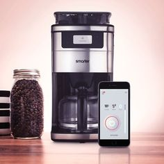 Smarter Coffee, the first wi fi  coffeemaker;