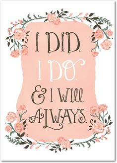 Anniversary Greeting Cards Always Will - Front : Tea Rose