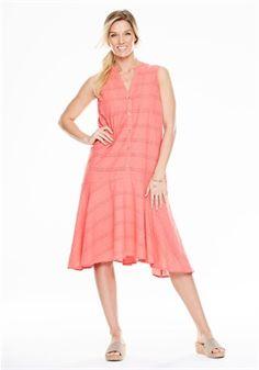 Plus Size Eyelet dress