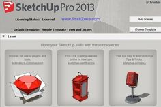 SketchUp Pro 2013 13.0 build 3689 with Full Version Free Download ~ Shak Zone - Download Full Version Software | Android Apps | Android Games | Free VPN | Proxies. Sketchup Pro, Training Classes, Android Apps, Free Android, Free Games, Architecture Design, Software, Templates, Learning