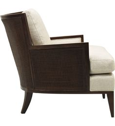 California Cane Lounge Chair - Baker The Barbara Barry Collection