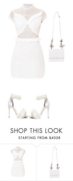 """White"" by sukia ❤ liked on Polyvore featuring Jeffrey Campbell"