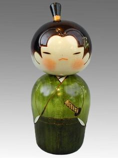 ... this item kokeshi is popular in japan as a traditional ceramic doll