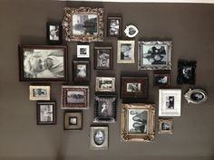 Love the different frames. I would like to put old pictures in them, like my grandfather's military picture, grandparents wedding day, etc.