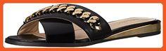 Nine West Women's Xray Leather Dress Sandal, Black, 7 M US - Sandals for women (*Amazon Partner-Link)