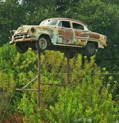 old car sign / Orangeburg SC by aswike66~Scott, via Flickr