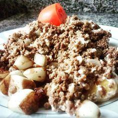 Abrindo o #3 dia cetogênico com: Carne moída com ovos  alho frito azeite  meio tomate . . .  #31diasketo #senhortanquinho #paleo #paleobrasil #primal #lowcarb #lchf #semgluten #semlactose #cetogenica #keto #atkins #dieta #emagrecer #vidalowcarb #paleobr #comidadeverdade #saude #fit #fitness #estilodevida #lowcarbdieta #menoscarboidratos #baixocarbo #dietalchf #lchbrasil #dietalowcarb