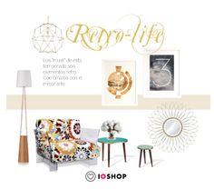 Look retro ioshop. Tienda online de arte y decoración. #arte #decoración #cuadros #láminas . www.ioshop.es