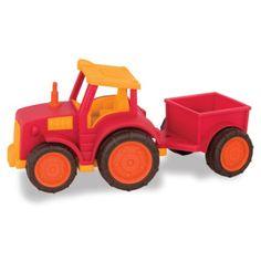 Wonder Wheels,Traktor Med Anhænger - Babysam.dk