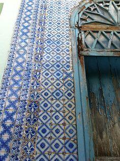 zulejos Portugueses -- Na cidade histórica de Barbalha, região do Cariri, no sul do Ceará, encontramos essa jóia. Toda revestida com autenticos azulejos Portugueses!