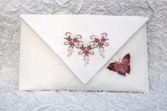 The Clutch purse with Crystal stars and the sparkling butterfly from Graceful Wings