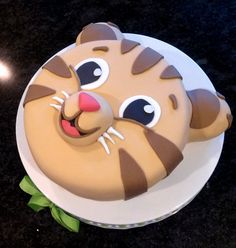 Tiger Cake - Daniel Custom Birthday Cake - Baby Shower Cake - LOCAL DELIVERY ONLY