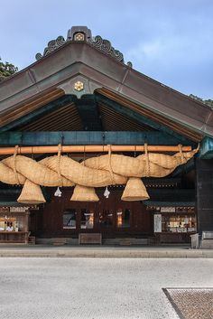 Izumo Taisha shrine, Shimane Japanese Shrine, Japanese Temple, Japanese House, Dojo, Japanese Architecture, Architecture Design, Shimane, Japanese Travel, Japan Landscape