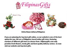 Filipinas Gifts - Flowers Delivery in philippines - Filipinas ...