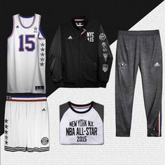 2015 #NBAAllStarNYC Eastern Conference Unis  Get your All Star gear now at Www.courtsidestory.com/store