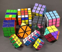 Rubik's Cube Collection by Scarygami, via Flickr