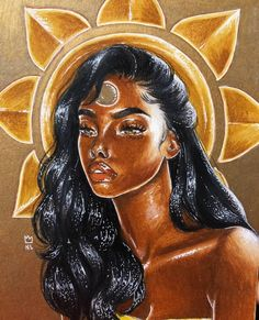 Shared by Becks. Find images and videos about aesthetic, indie and inspiration on We Heart It - the app to get lost in what you love. Black Love Art, Black Girl Art, Art Girl, Black Girls, African American Art, African Art, Black Art Pictures, Arte Sketchbook, Goddess Art