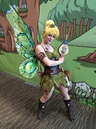Apologise, Tinker bell cosplay naked shall