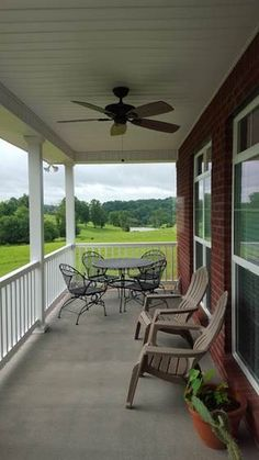 The Becker #1293 features a relaxing back porch. http://www.dongardner.com/house-plan/1293/the-becker. #RearPorch #Exterior #HomePlan