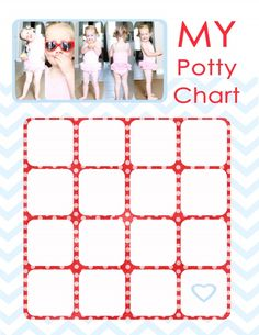 Potty chart and tips for potty training. Best Potty Seat, Printable Potty Chart, Potty Training Rewards, Home Childcare, Kids Learning, Free Printables, Activities For Kids, Baby Kids, Toddlers