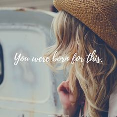 Consider this an open letter to all of us who have questioned our purpose and value on this earth. We were born for this. http://becomingbeautiful.org/you-were-born-for-this/