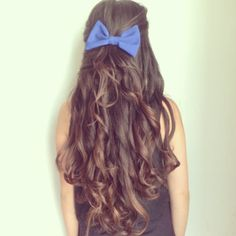 bows before bros, curls for the girls<3