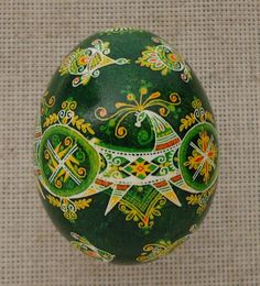 why haven't you used pysanka designs in your Zentagles yet???  ..... Pysanka Pysanky from Ukraine Chicken Easter Egg by PysankaFolkArt