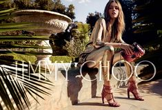 God Save the Queen and all: Jimmy Choo Spring/Summer 2016 Campaign #jimmychoo #ss16 #campaign