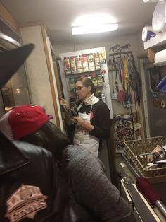 Liz in kitchen