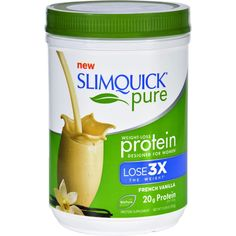 Slimquick Protein Powder - Pure - Women - Vanilla - oz SlimQuick Product Description is in the pictures. Ship with in 3 days with USPS tracking numbers. Price: More Vanilla Protein Powder For Women Products Pure Protein, Protein Power, Best Protein, Muscle Protein, Weight Loss For Women, Easy Weight Loss, Lose Weight, Protein Powder For Women