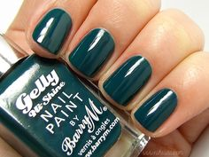 Barry M Gelly Hi-Shine Nail Paint in Watermelon love this colour. Instagram @fallonsarah