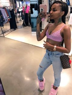 Image about bali+baby in outfits fresh 💦😏💸 by famoustrin Dope Fashion, Fashion Killa, New Fashion, Trill Fashion, Girl Outfits, Cute Outfits, Fashion Outfits, Bali Baby, Girl Swag