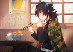 Anime:Kimetsu no Yaiba Character: Tomioka Giyuu Demon Slayer, Slayer Anime, Manhwa, Anime Lindo, Cute Anime Guys, Cute Anime Character, Anime Demon, Animes Wallpapers, Anime Characters